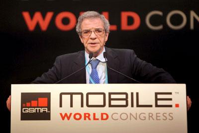 Cesar Alierta en MWC 2011